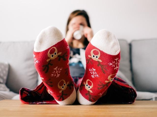 Ponožky, čaj, distribuční sazba D35d
