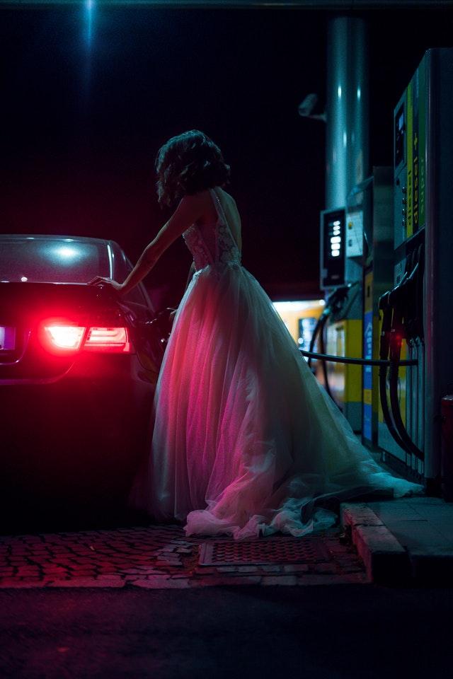 Nevěsta na benzínce