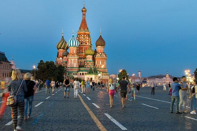 Moskva, Rudé náměstí