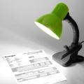 Lampička svítí na fakturu za elektřinu