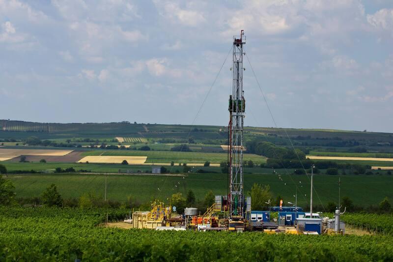 Těžba na jižní Moravě, ceník plynu MND 2022